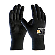 MAXIFLEX ENDURANCE SEAMLESS KNIT NYLON / LYCRA GLOVE WITH NITRILE COATED MICRO-FOAM GRIP ON FULL HAND, 2X, 1DZ, 12dz/case