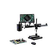 Autofocus HDMI camera on boom stand, with screen, multi-plug