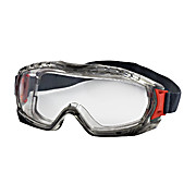 Goggle, Stone IV, Clear Anti-Fog/Anti-Scratch Lens, Elastic Strap, Gray Frame - SOLD BY EACH