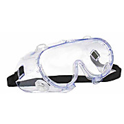 G16 Chemical Splash Goggle, Indirect Vents, Clear