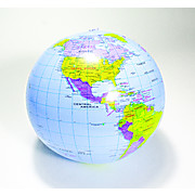 Inflatable Geopolitical Globe
